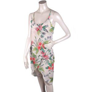 Streetwear Society Tropical Floral Dress Hi-Low S